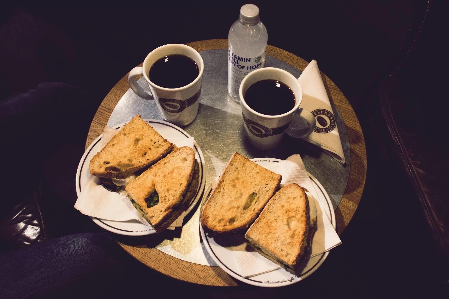 En mellanlandning på espresso