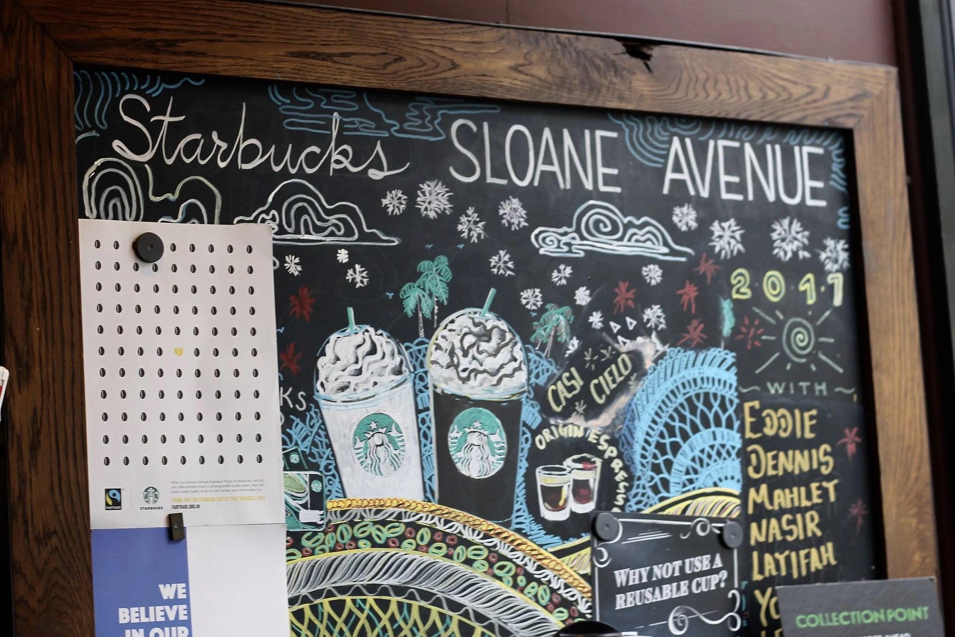 Starbucks Sloane Avenue