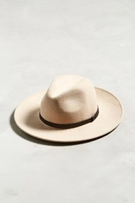 Wide brim fedora hat urban outfitters tan