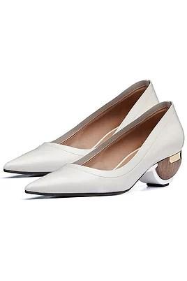 sculptured heel shoes