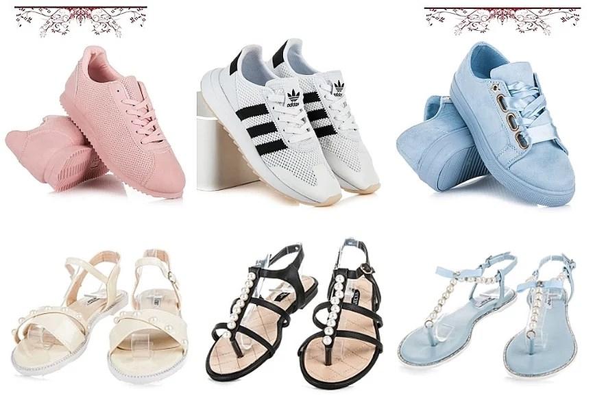 Modne buty na lato 2017