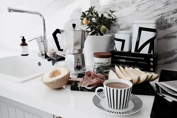 Espresso frukost Lina paciello