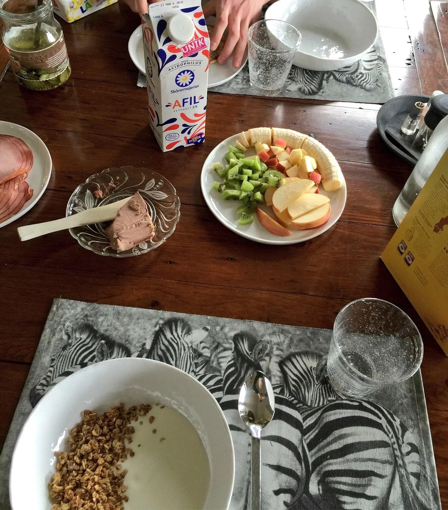 Frukostdejt och fredag