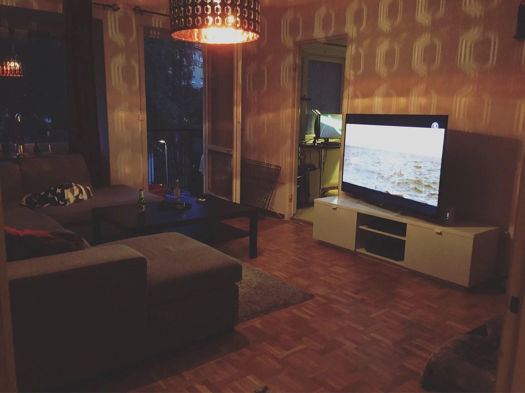 Renovering av vardagsrummet
