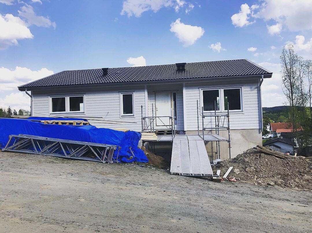 Huset utan byggställning