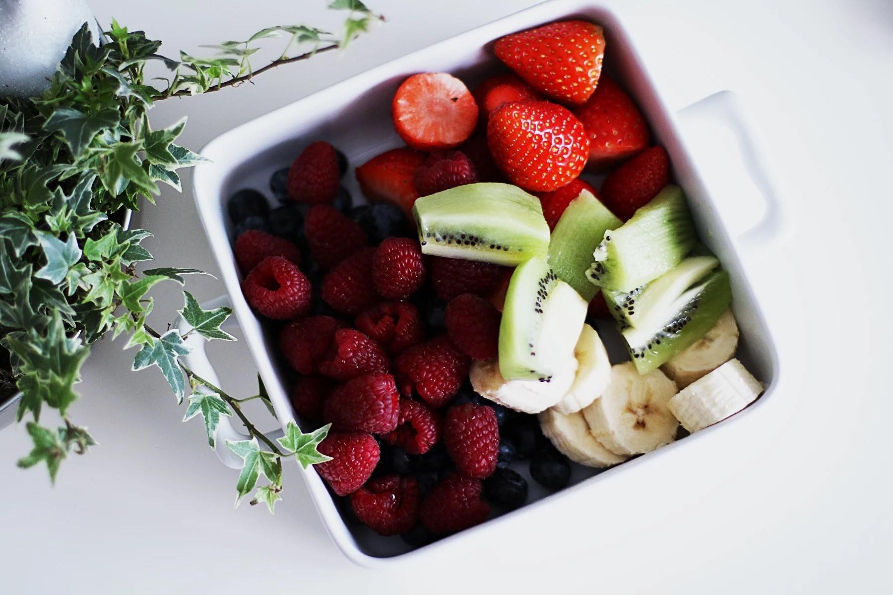 Sista terminen och en skål frukt