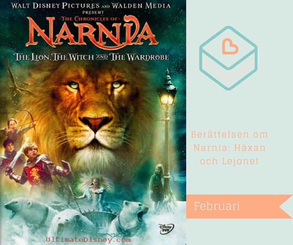 Filmer jag vill se på viaplay - Berättelsen om Narnia: Häxan och Lejonet