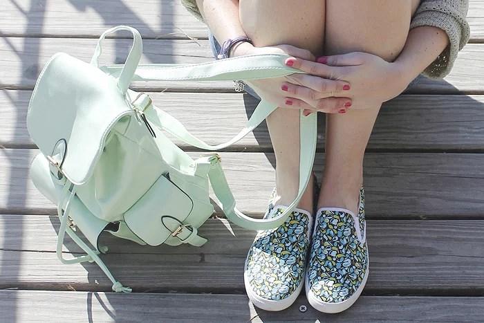 Sneakers Vrs. Slip-ons #Outfitshowdown