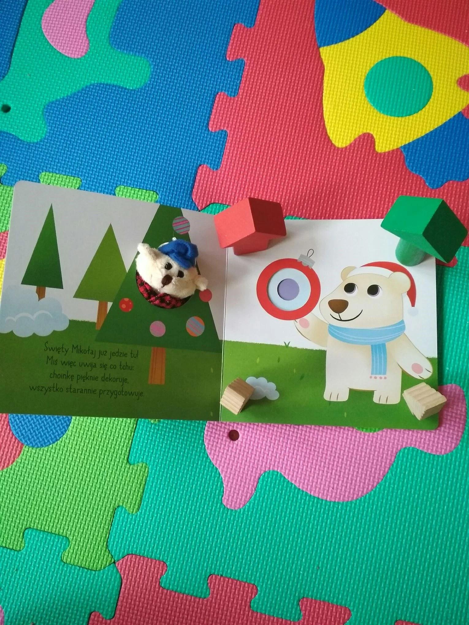 O niedźwiadku który chciał spotkać Mikołaja