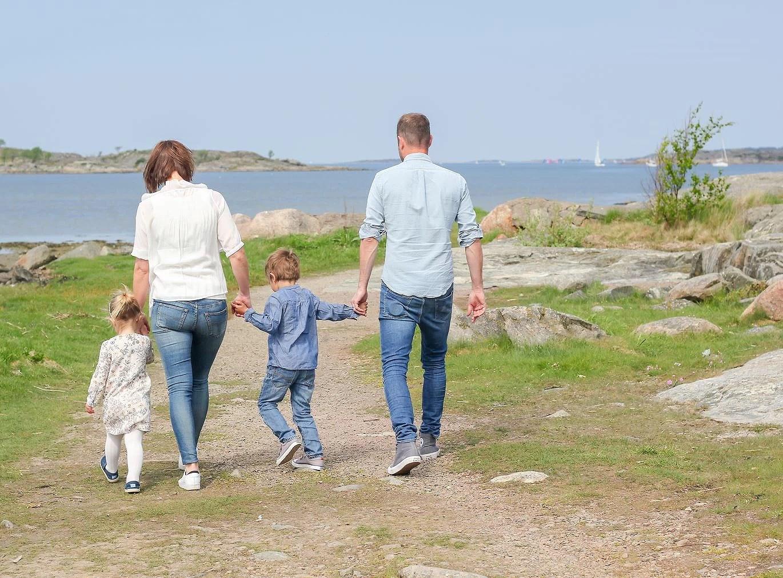 Familjefotografering Stora Udd