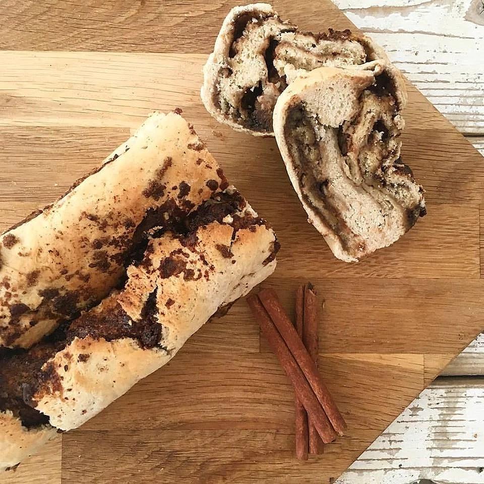 Kanel-chokolade-brød