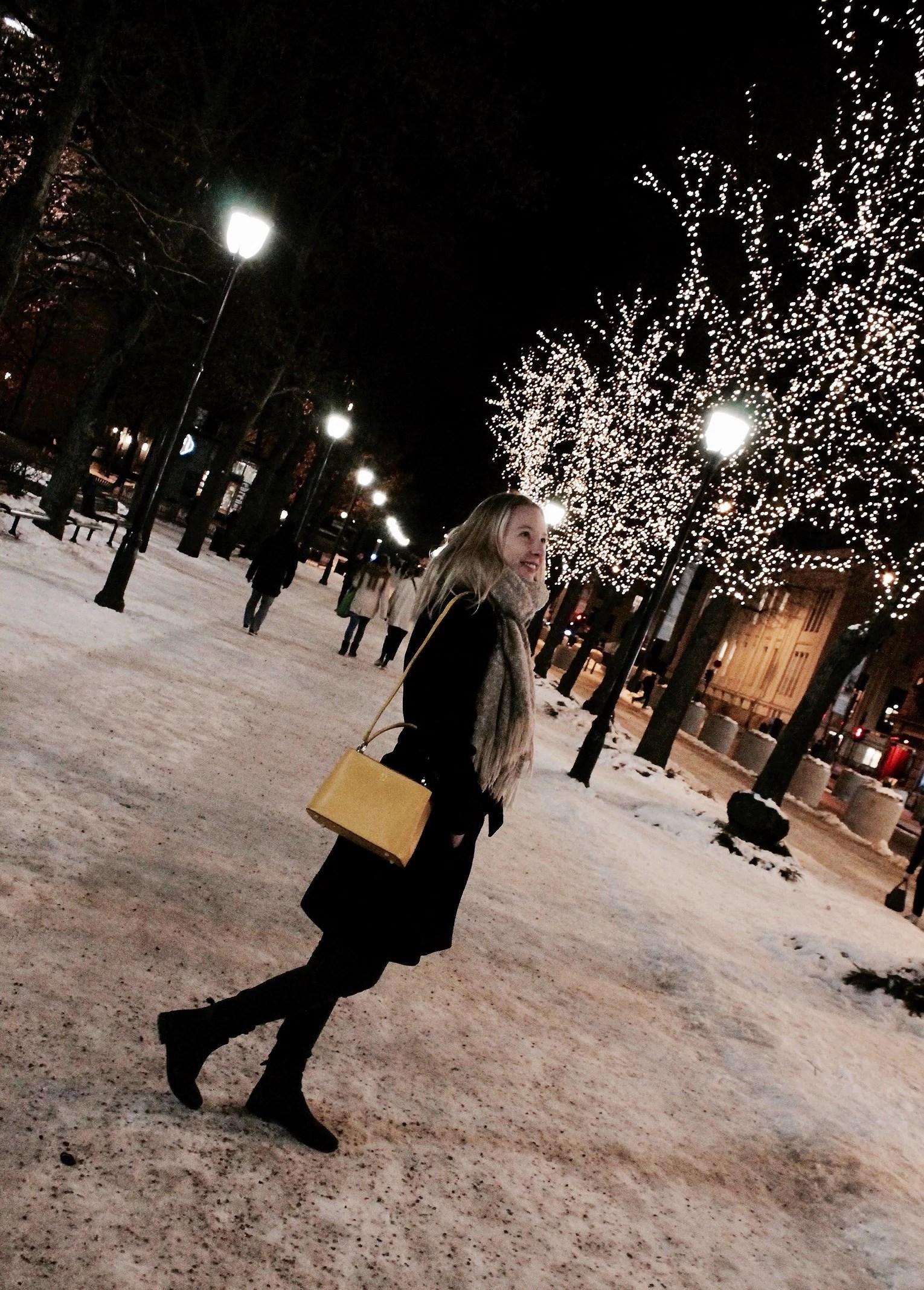 Late night in Oslo