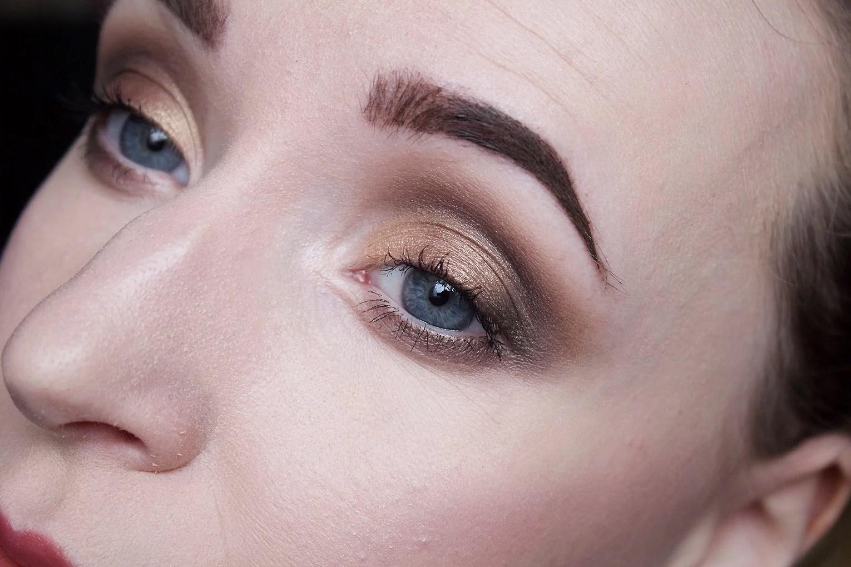 Makeup look: Bronze