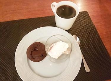 Chokladfondant med glass