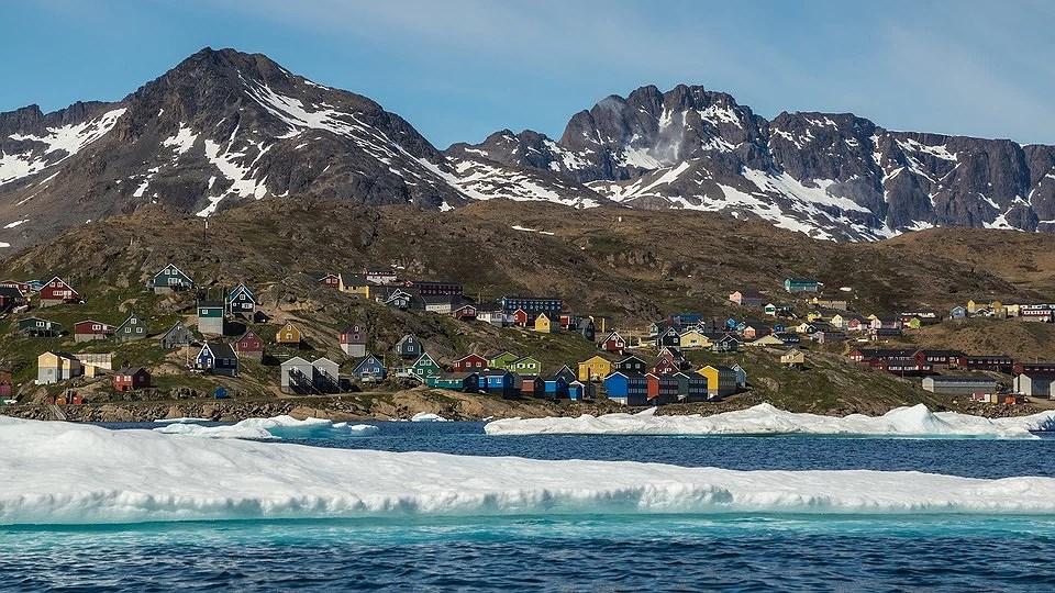 Att studera danska i Arktis