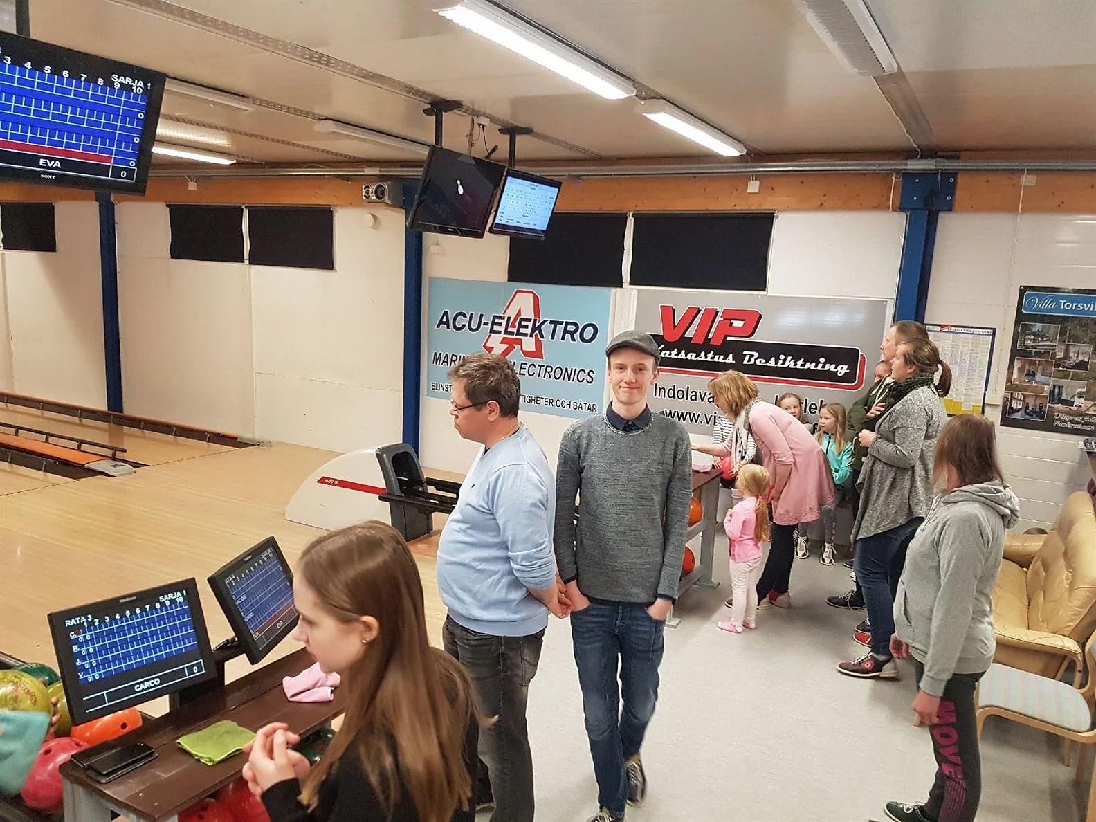 Testar gränserna med Bowling