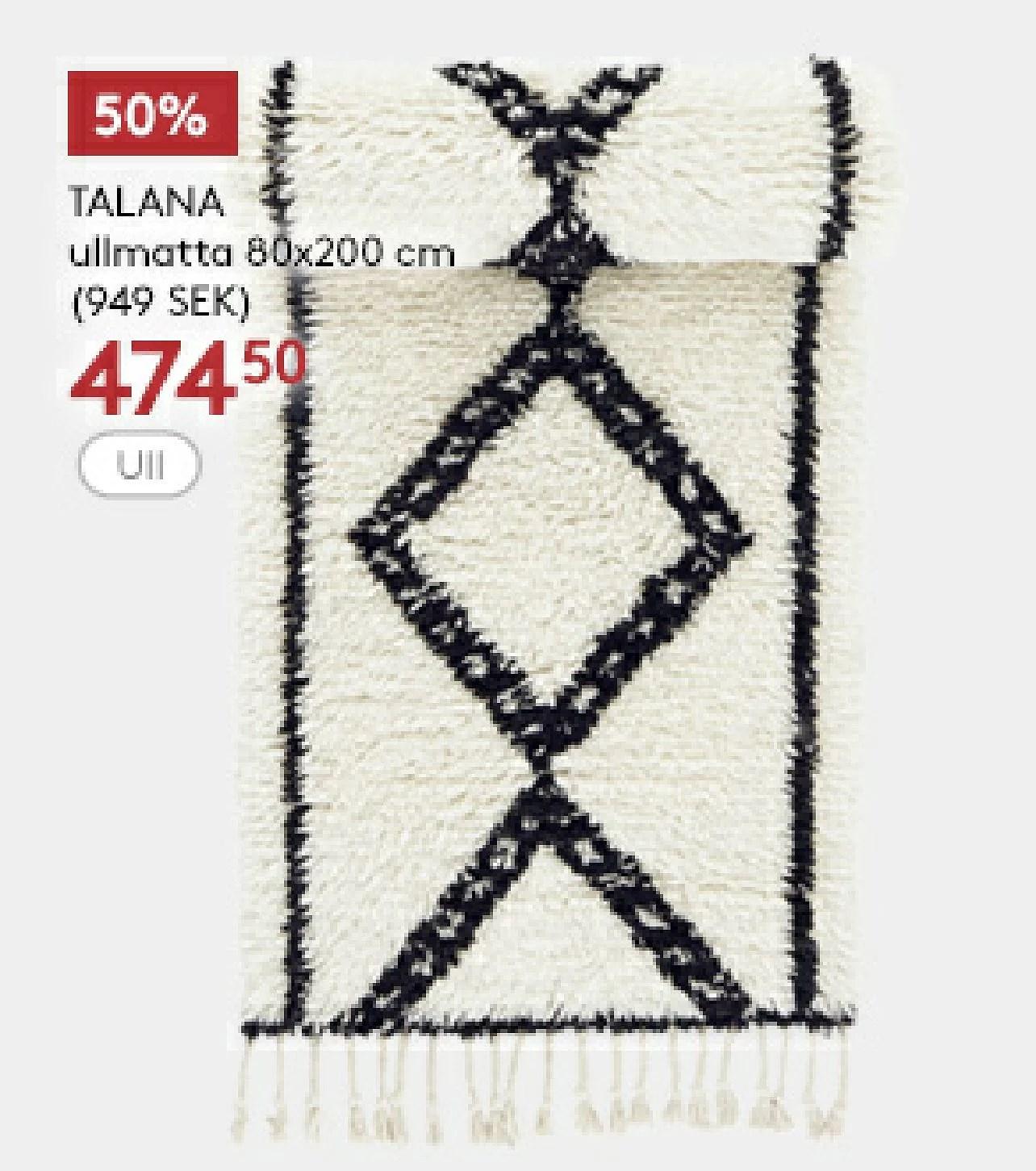 Jotex 50% på utvalda produkter