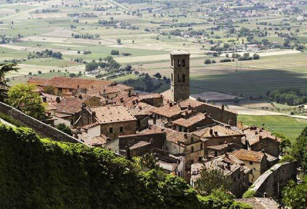 Cortona i Italien