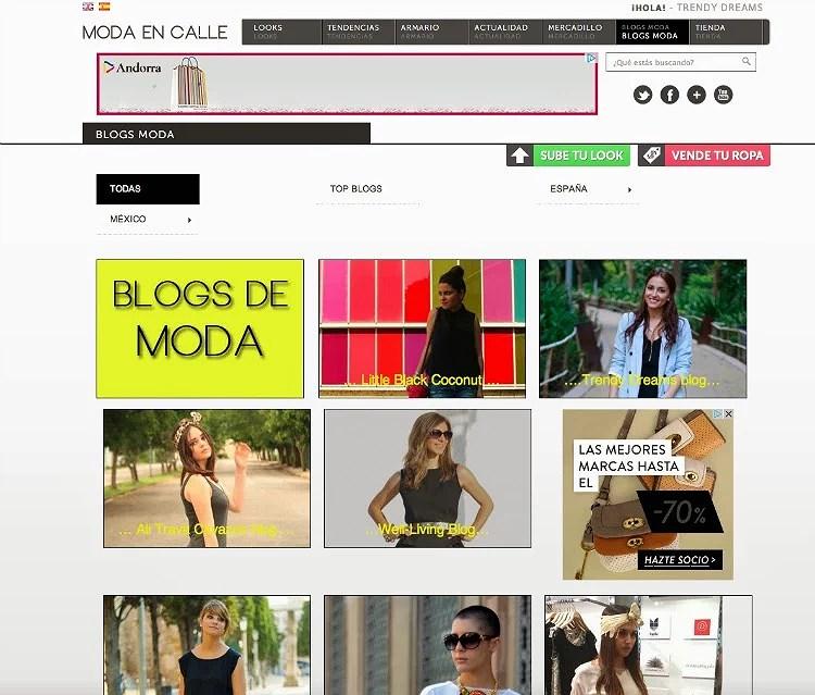 Entrevista para Moda en Calle
