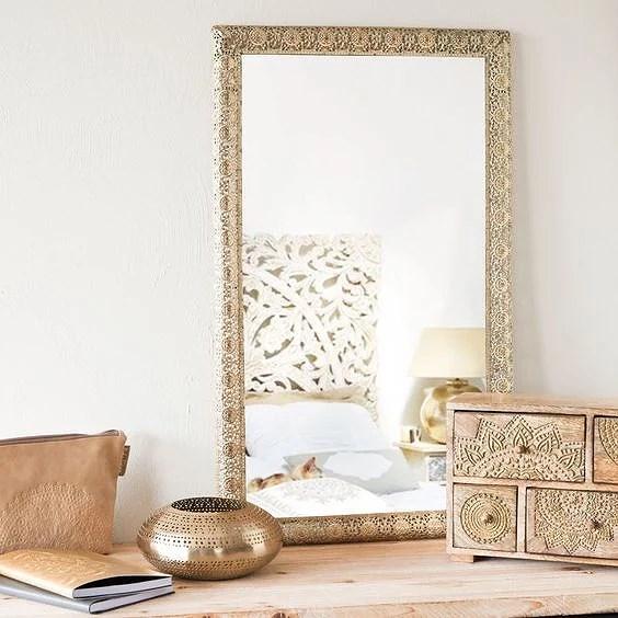 Deco: Espejos dorados