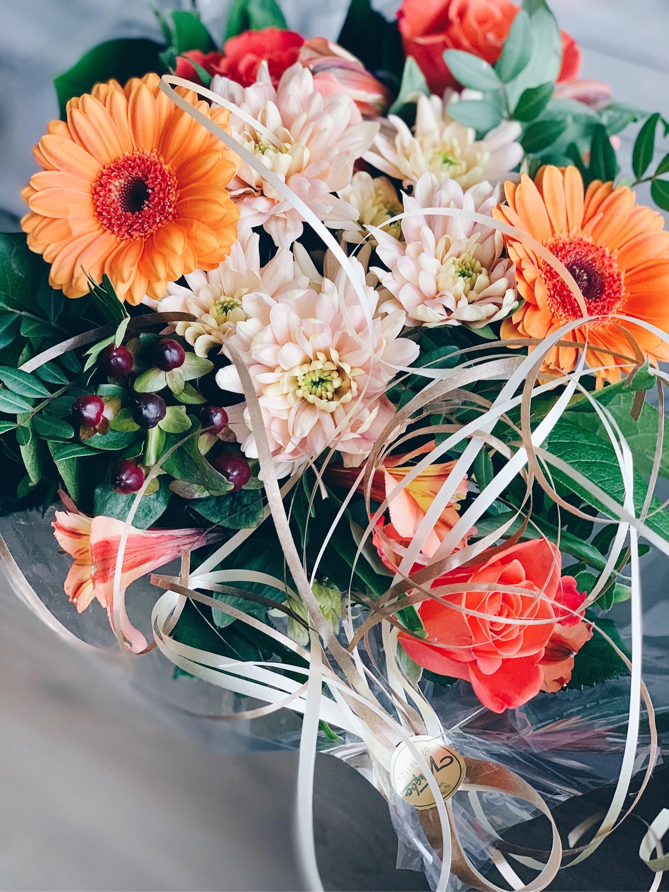 Cellprov & blommor