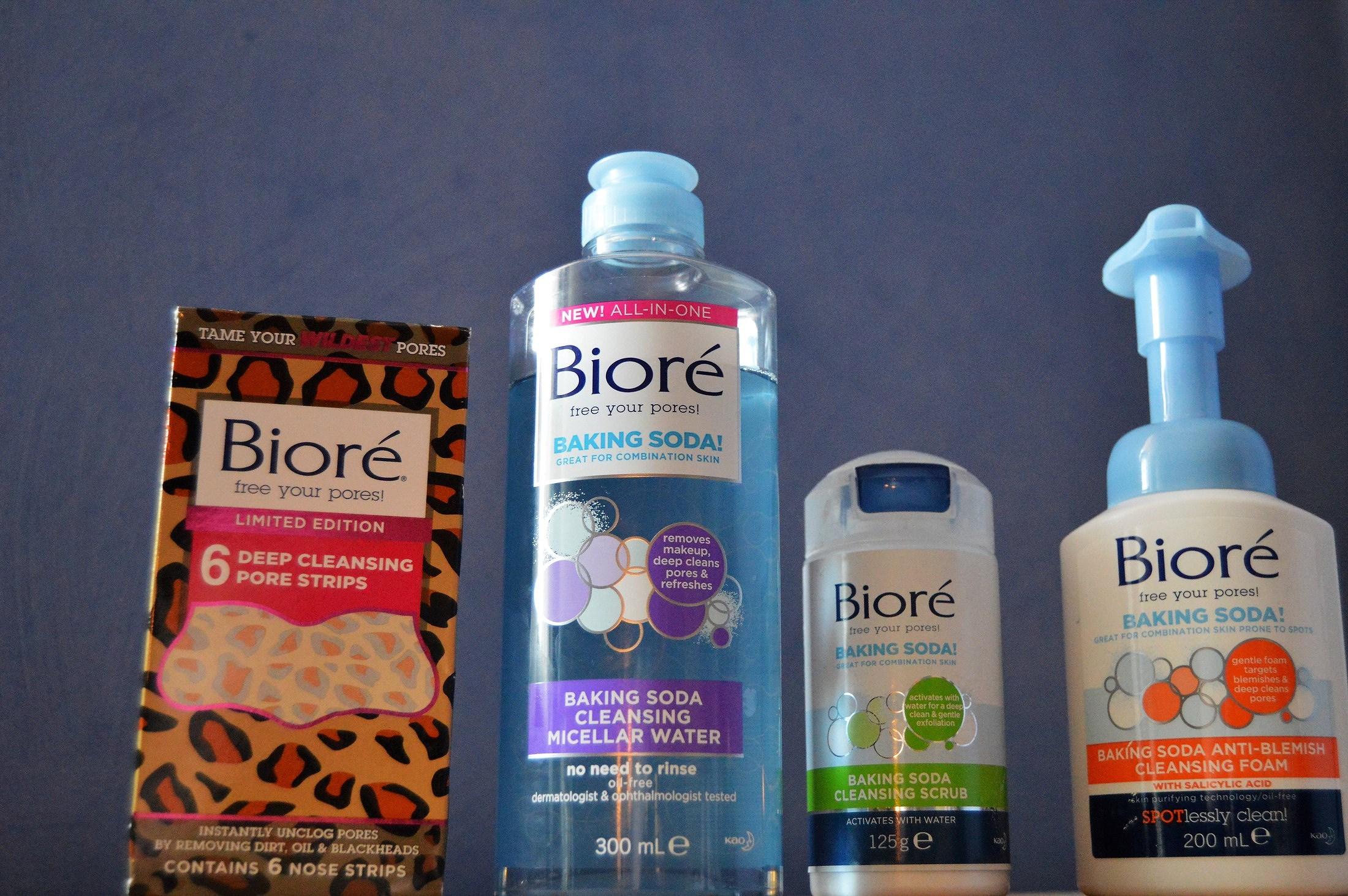 Hudvård från Bioré