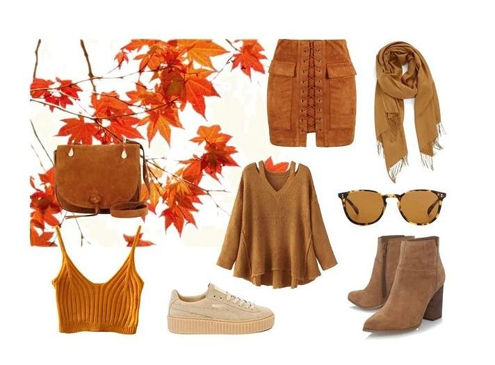 Fall fashion - Camel