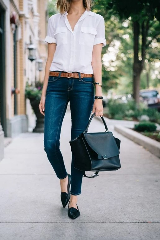 White Top X Blue Jeans | waanderluster Blog