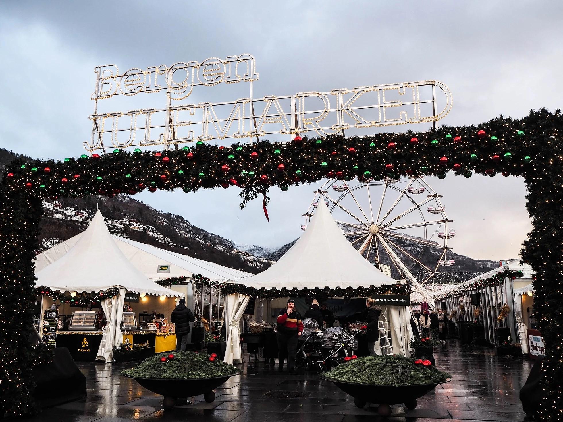 Eksamenspause - Bergen Julemarked