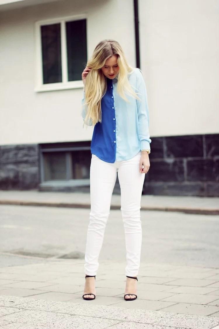 BLUES & WHITES