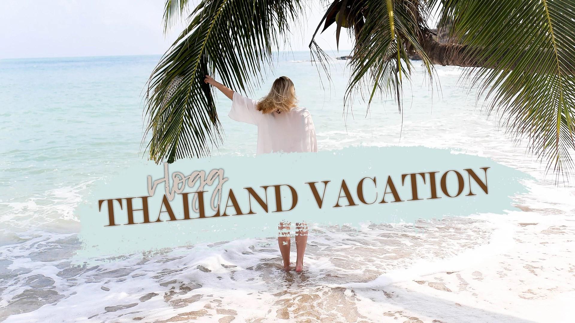 Thailand Vlogg!