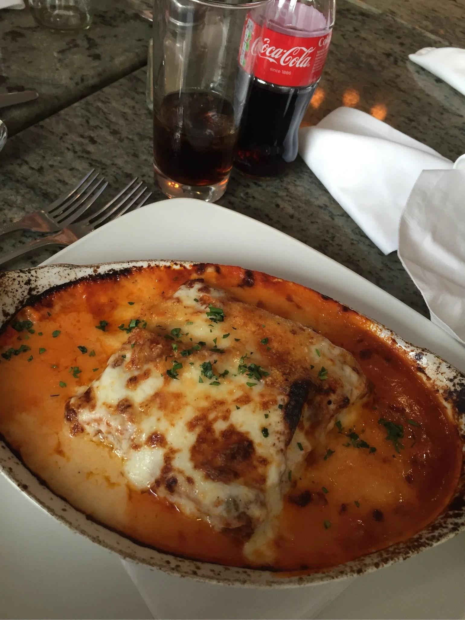 Sista middagen här