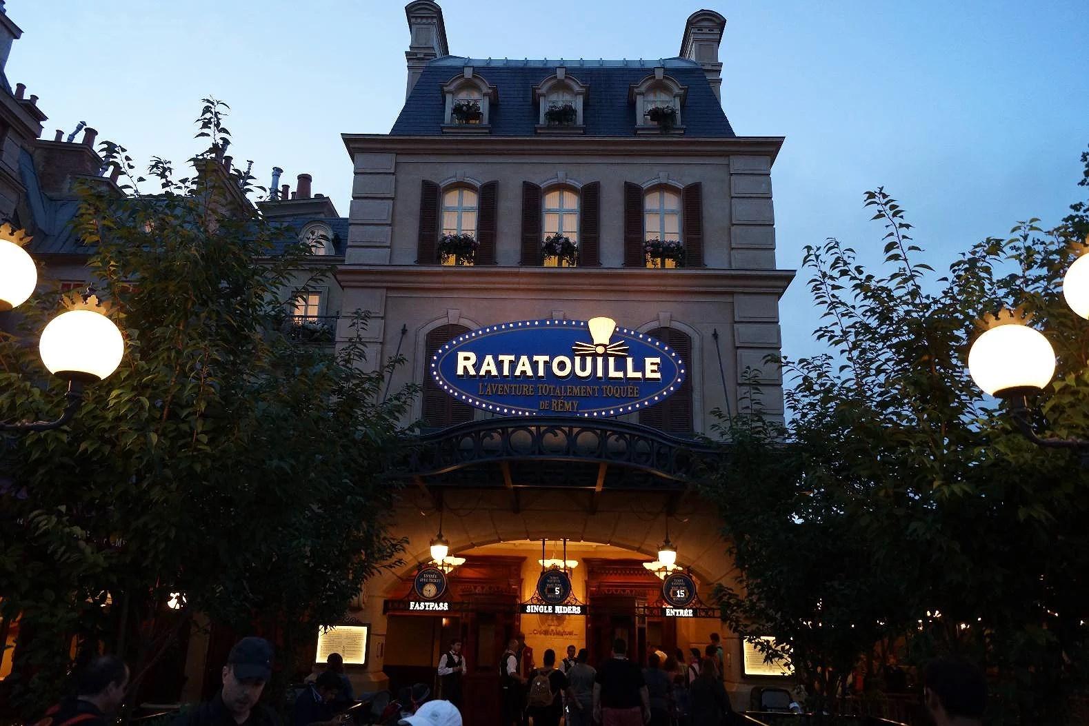 Ratatouille på Disneyland Paris stänger för renovering Augusti till December