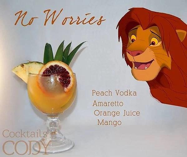 Disneyinspirerade drinkar: Lejonkungen