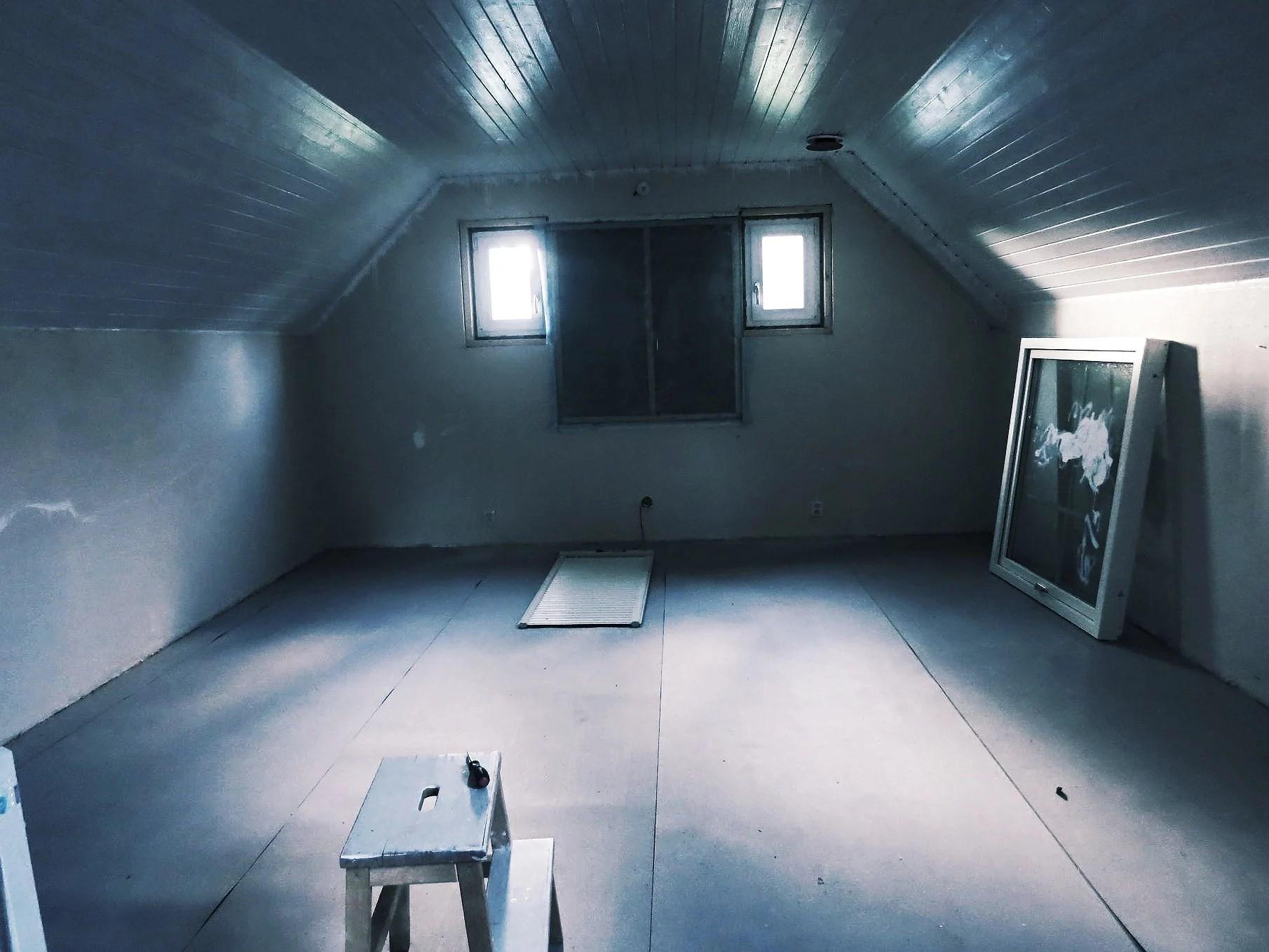 Ett tomt skal