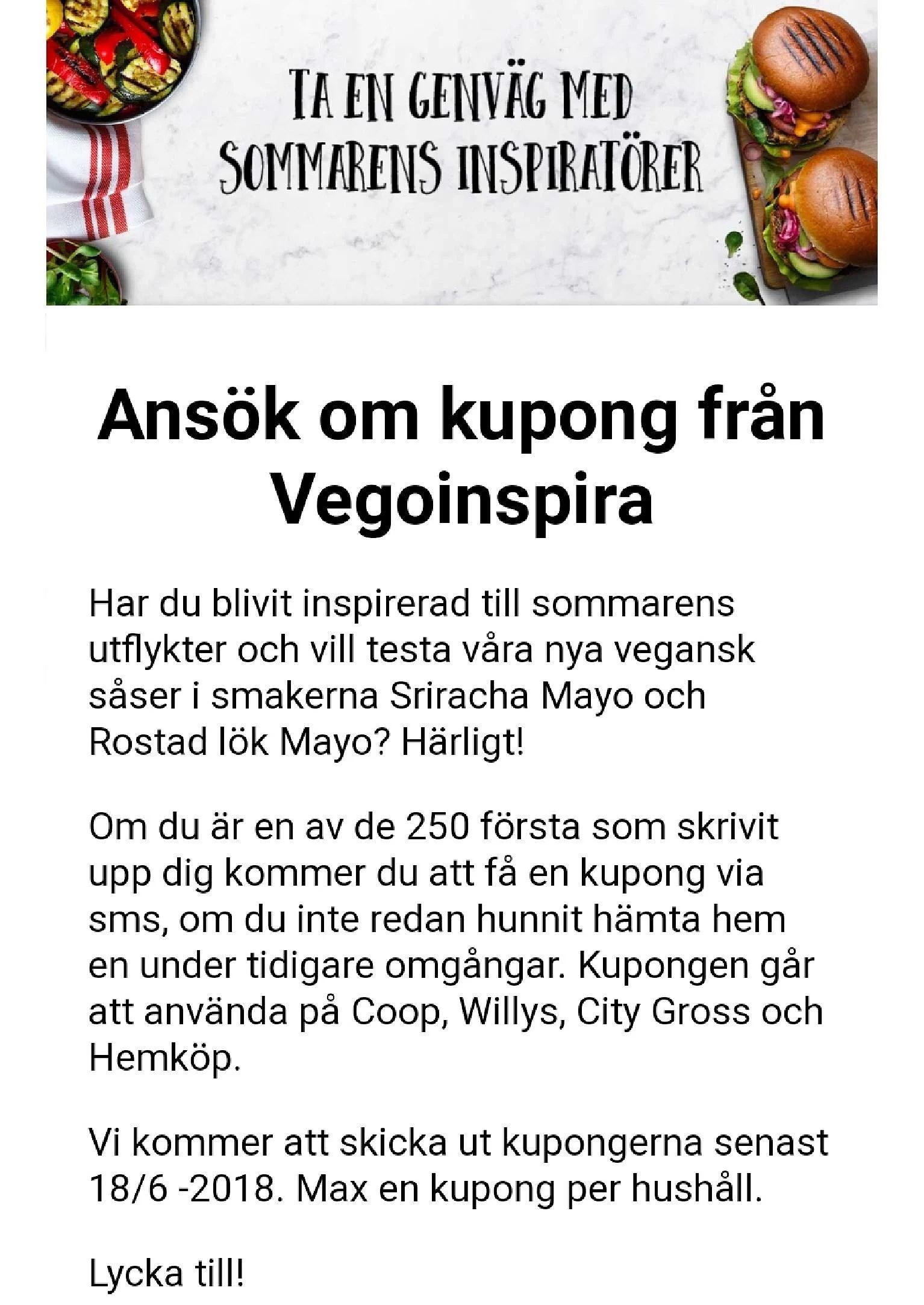 Utdelning av Rydbergs sås nu
