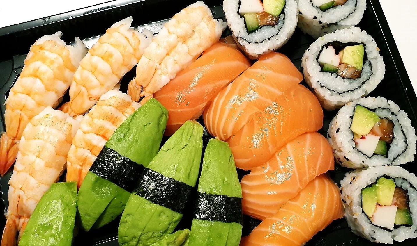 Sushi till middag