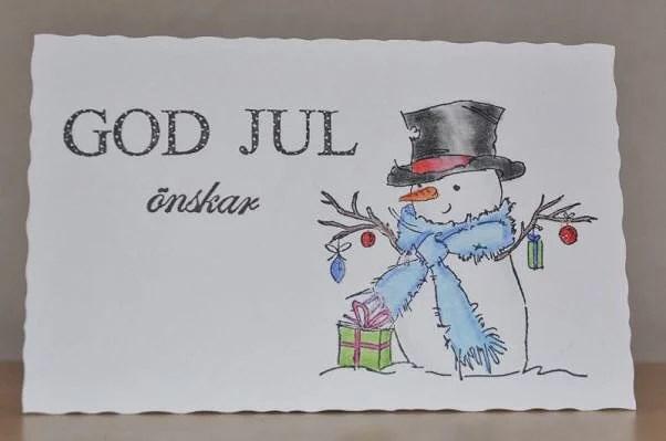 Skickar ni julkort?