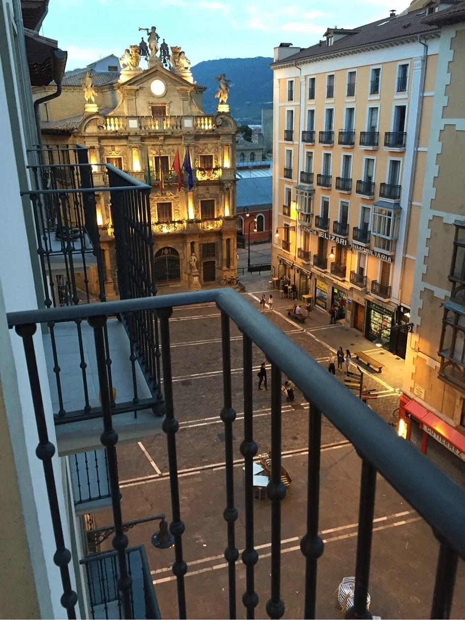 Äntligen i Pamplona!