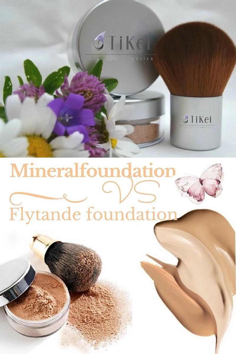 Mineralfoundation VS flytande foundation!