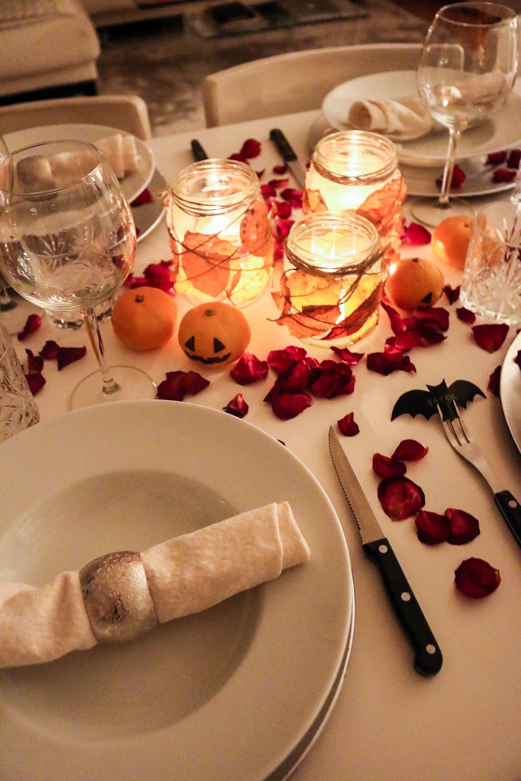 Halloween dinner