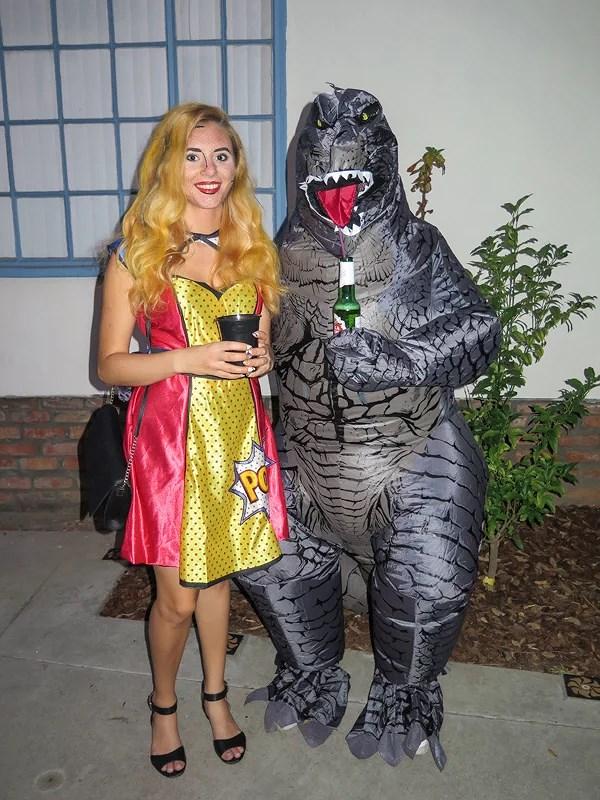 Happy Halloween from Santa Monica