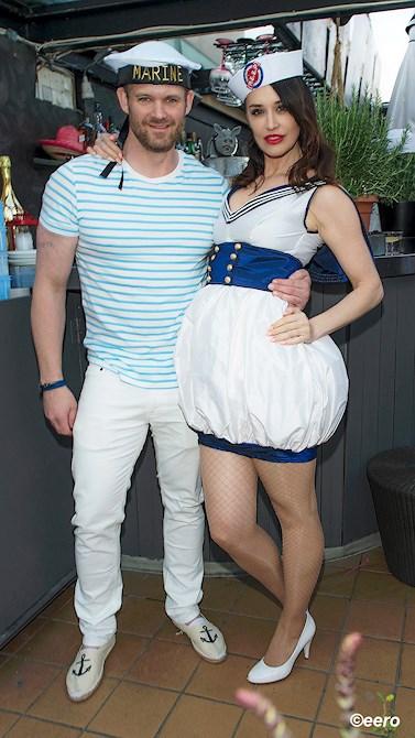Beba Jonsson med Alexander Erwik
