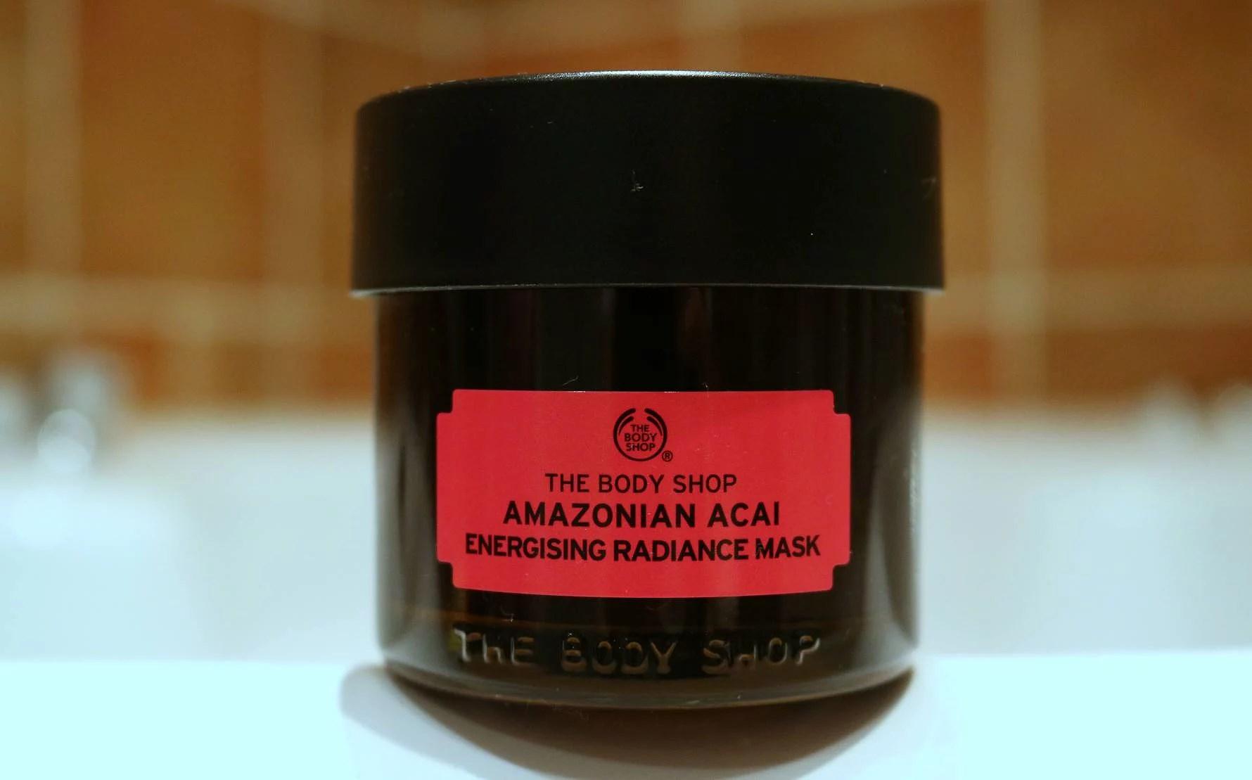 The Body Shop - Amazonian Acai Mask