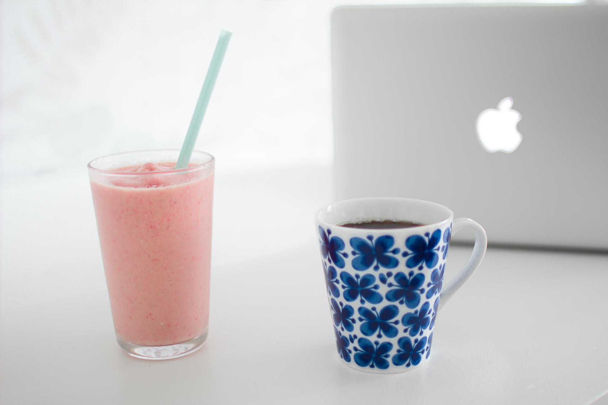 Fruktig smoothie & redigering
