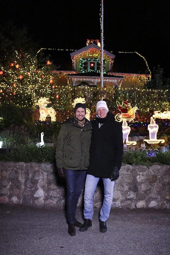 Julkampen i Kanal 5 med Johnnie och Mattias