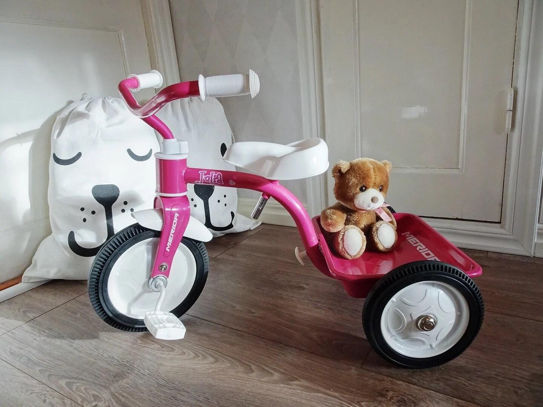 Litens första trehjuling