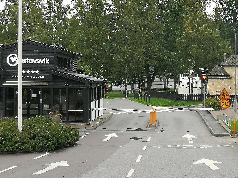 Gustavsvik camping i Örebro