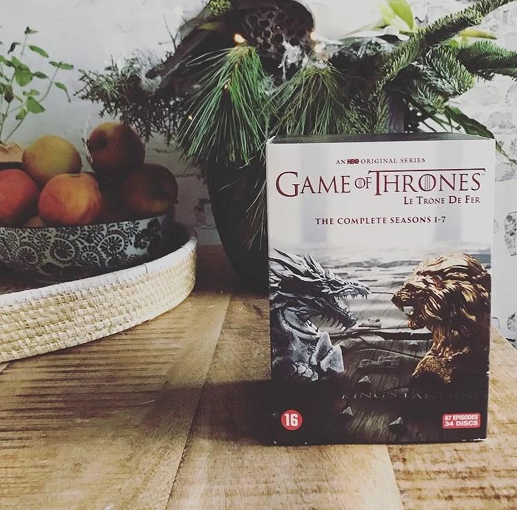 Winactie!!! Game of thrones DVD box!!! Winnaar bekend!