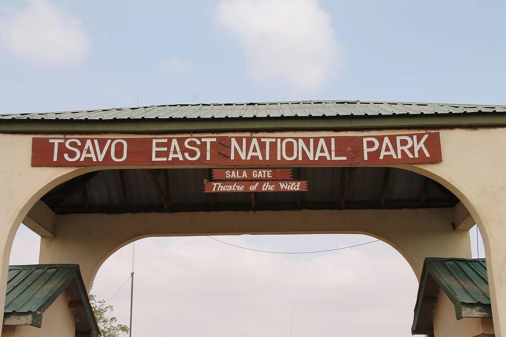 Safari, jordbruk och roda elefanter i Tsavo East